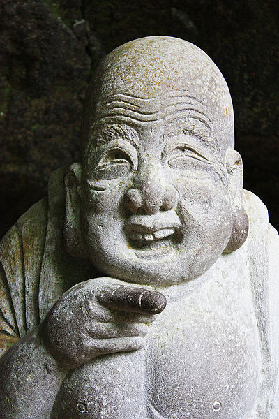 Hotei, god of happiness. Photo by Andrea Schaffer